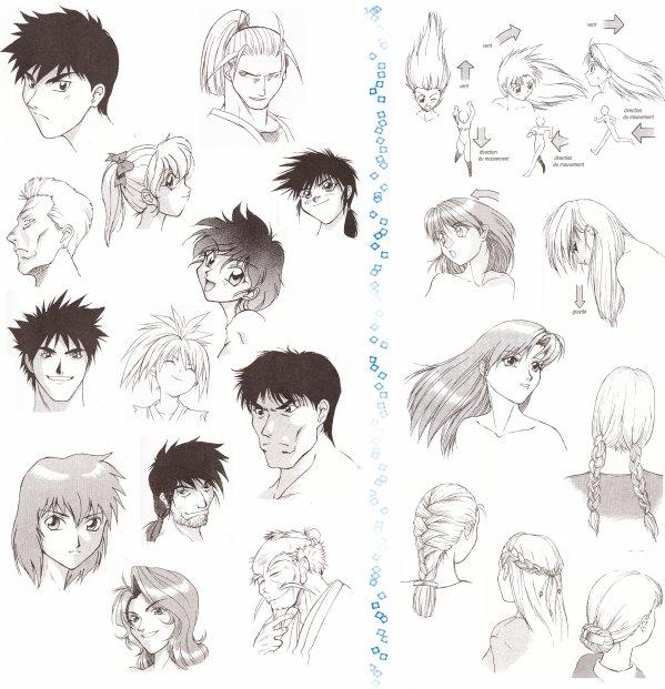 Comment dessiner des cheveux d homme for Coupe de cheveux homme dessih