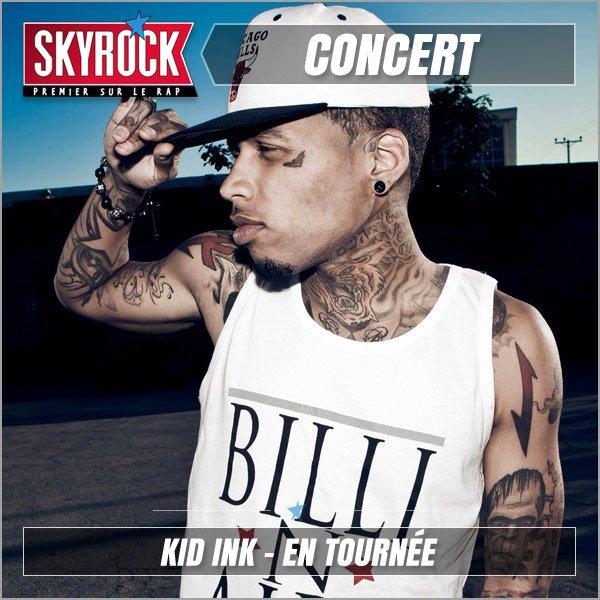 Kid Ink la tourn�e Skyrock