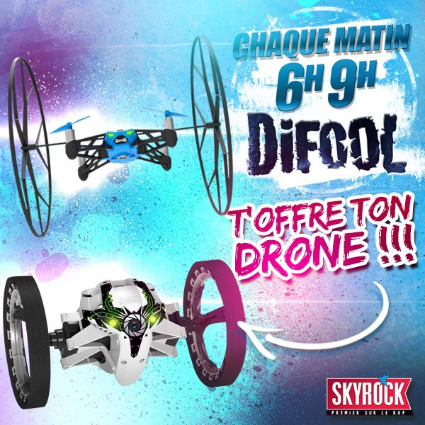 Difool t'offre ton drone !
