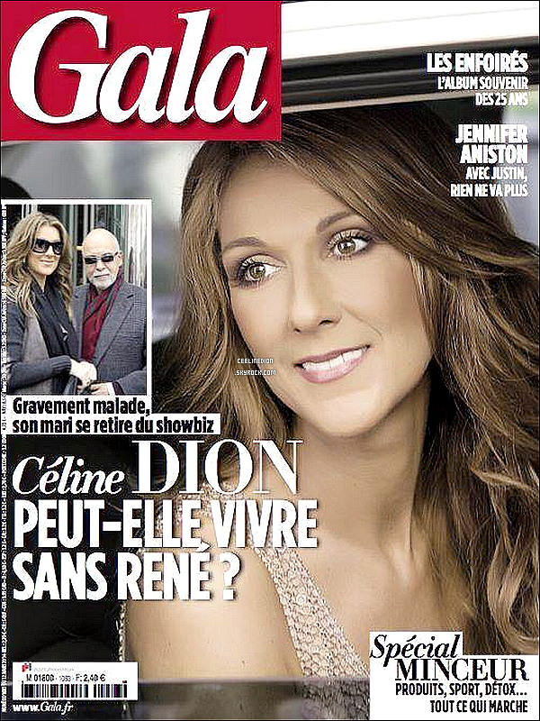 - 12/03/14 : C�line Dion a enregistr� une interview am�ricaine pour l'�mission Squawk Box.-