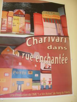 La derni re com die musicale en date de 2006 charivari for L agence de rang du fliers