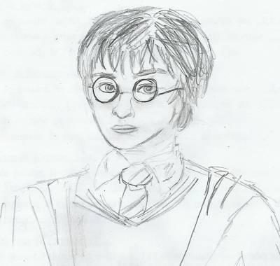comment dessiner harry potter
