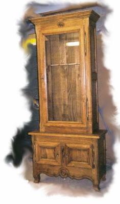 armoire fusils bois. Black Bedroom Furniture Sets. Home Design Ideas