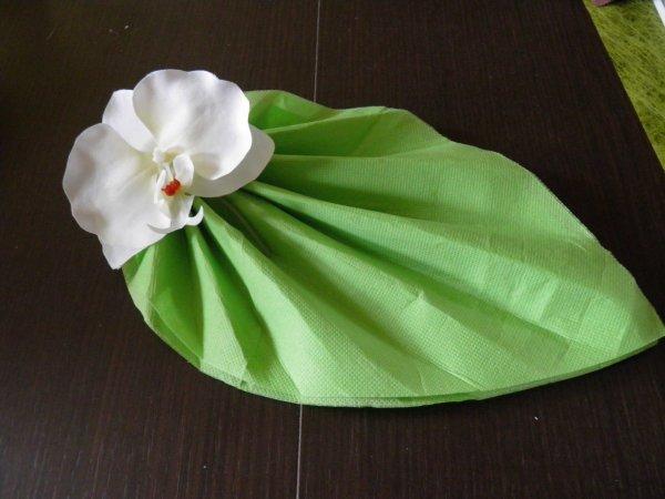 Pliage de serviettes mariage zen - Pliage de serviette pour mariage ...