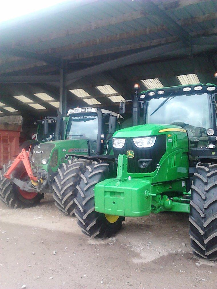 nouveau tracteur john deere 6150R