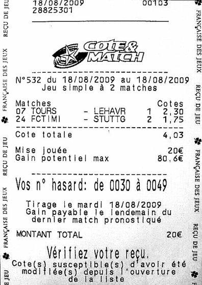 France ligue 2 - Grille pdf parions sport pronostic ...