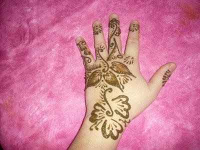Henna blog de nekkacha77 - Modele de henna ...