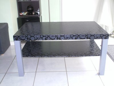customisation table basse style baroque rock a bloc. Black Bedroom Furniture Sets. Home Design Ideas