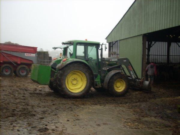 Blog de jd 6420 jd 6420 - Tracteur avec fourche ...