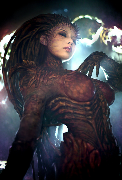 The Queen of Blades - Starcraft II Heart of the Swarm