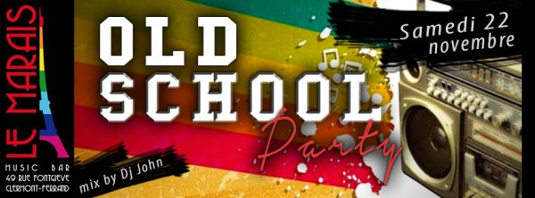 OLD SCHOOL PARTY BY DJ JHON> 22/11/14