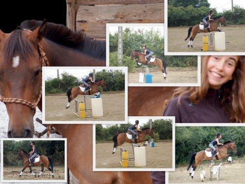 Is & Flo chez Laura ___ 1�re s�ance d'obstacle apr�s Lamotte ...