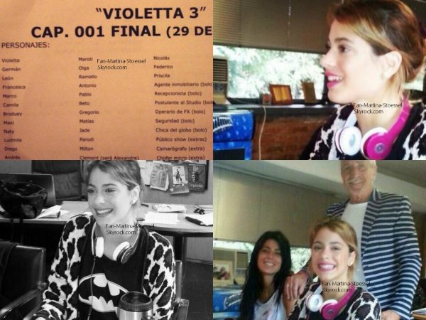 ∞ Martina Stoessel Article du 04/03/2014∞
