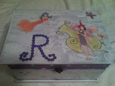 Cajas de madera pintadas a mano blog de mentapoleo - Cajas de madera pintadas a mano ...