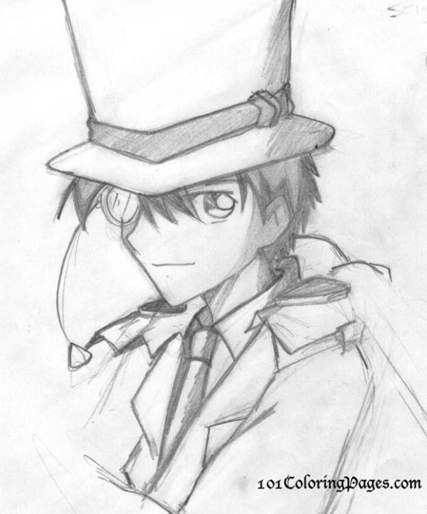 Trop beau dessin kaito kid officiel - Trop beau dessin ...