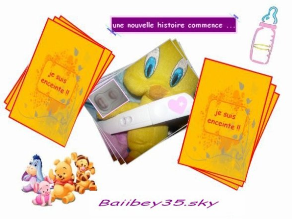Blog de baiibey35 dans 9 mois nous pourons dire nous for Dans 9 mois nous serons 4