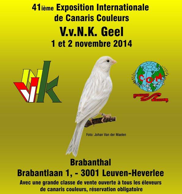 R�sultats Concours COM Leuven 2014