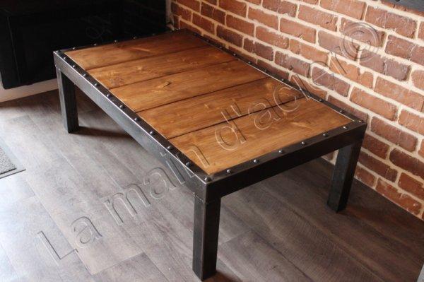 table basse manahttan. Black Bedroom Furniture Sets. Home Design Ideas