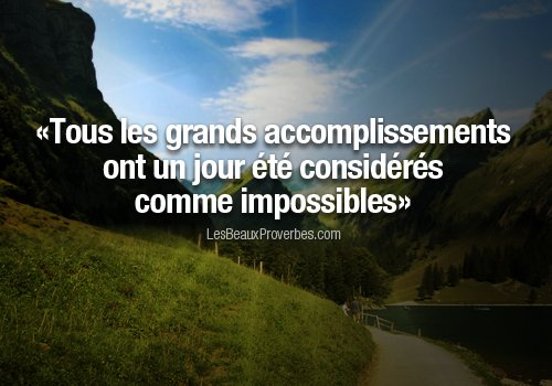 Mes premi�res citations et proverbes ...