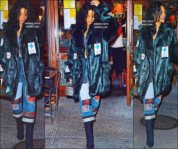 _ 17/10/2014 : Rihanna s'est rendue a son deuxi�me restaurant favoris � Da Silvano � � New York. - Top or Flop ?