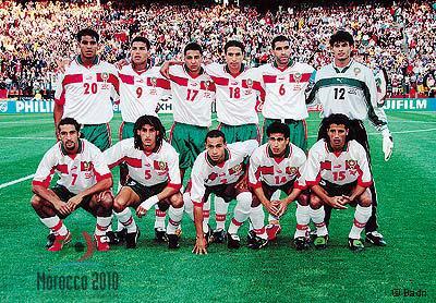 La selection du maroc 1998 greenboys en force - Maroc coupe du monde 1998 ...