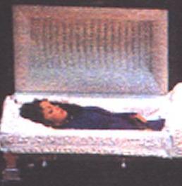 selena le jour de son enterrement...