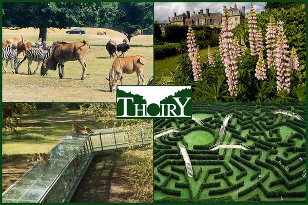 Parc Zoologique Et Reserve De Thoiry Les Parcs D