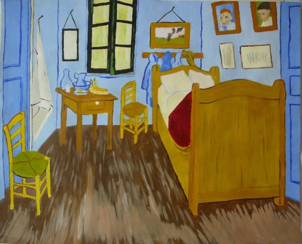 reproduction de la chambre coucher de van gogh wonderland