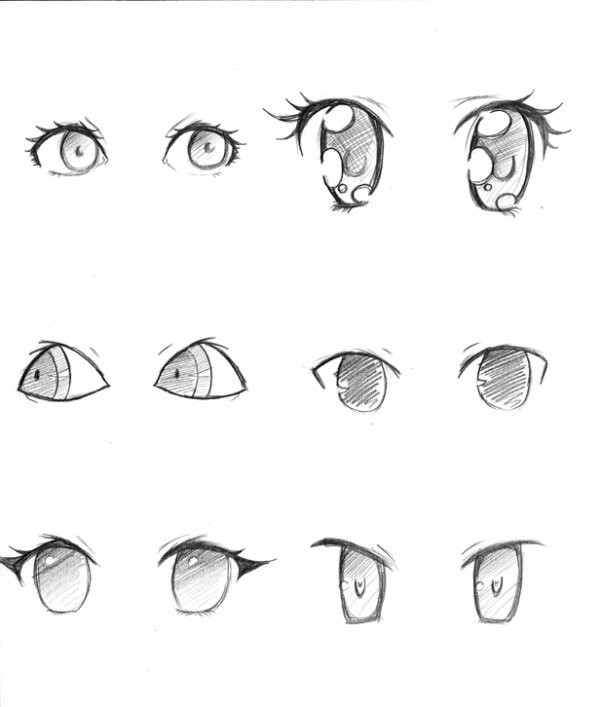 photo apprendre a dessiner des yeux