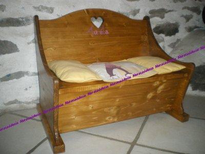 banc coffre personnalis sur commande 5 pour personnalisation abracadabois jouets bois et. Black Bedroom Furniture Sets. Home Design Ideas