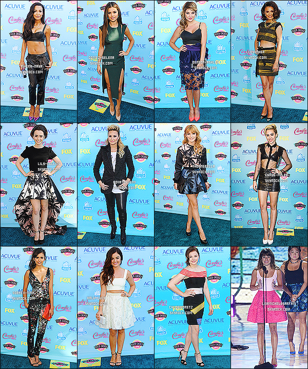 * *_● ● ● ' ._COLLABORATION // TEEN CHOICE AWARDS -       Les Teen Choice Awards 2014 arrivant � grand pas, profites-en pour voter pour ta tenue pr�f�r� de l'ann�e derni�re !  *
