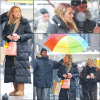Gossip Girl set Blake Lively 25 Janvier 2011