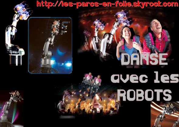 futuroscope danse avec les robots les parcs en folie. Black Bedroom Furniture Sets. Home Design Ideas
