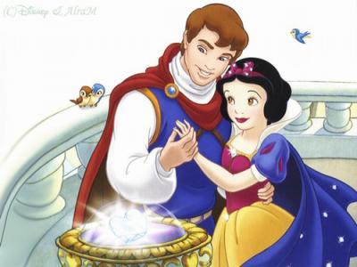 Blanche neige et son prince walt disney - Blanche neige et son prince ...
