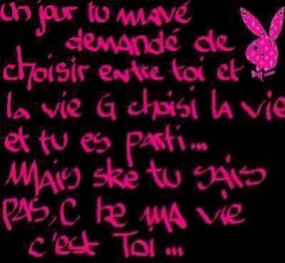 Petit po me d 39 amour tr s mignon bobotun for Tu es le miroir de ma vie