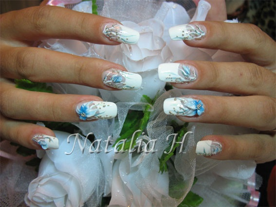 gel d co en r sine les ongles pour mariage blog de ongle natalia. Black Bedroom Furniture Sets. Home Design Ideas