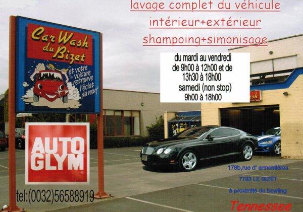 Car Wash Du Bizet Le Bizet Belgique