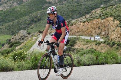 Corsica Tri, Championnat de France Longue Distance, Nat 3150m, V�lo 83km, Cap, 20km