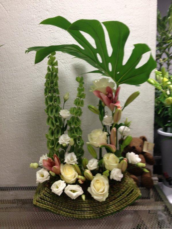 composition florale mes compositions florale. Black Bedroom Furniture Sets. Home Design Ideas