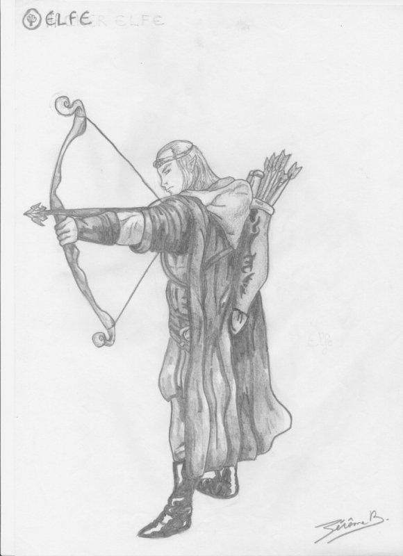Articles de jeragorn tagg s elf medieval fantastique - Dessiner un elfe ...