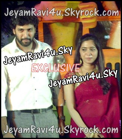 EXCLUSIVE PICTURE OF JEYAM RAVI & ARTHI ( from aarav's birthday )
