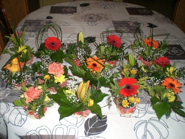 Articles de perrine53 tagg s compositions florales for Petites compositions florales pour table