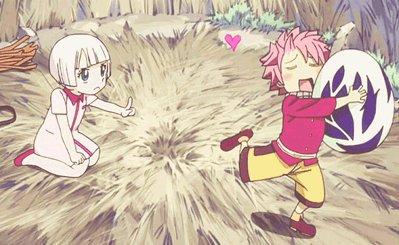 Natsu dragnir for Portent fairy tail
