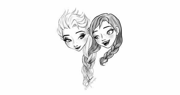 Apprendre a dessiner la reine des neiges - Comment dessiner elsa ...