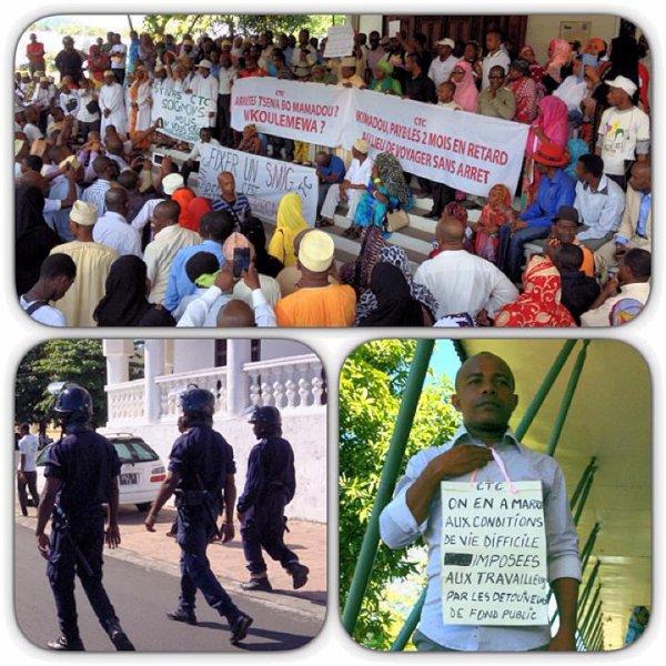 Ce matin � Moroni :  le peuple Comorien  se r�veille , il �tait temps !