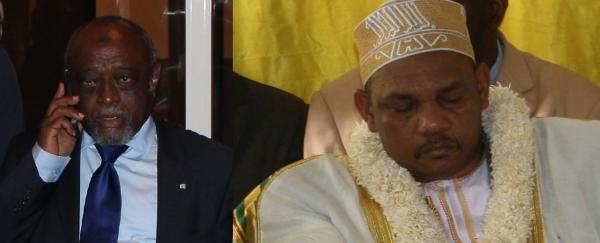 Mamadou, la cheville ouvri�re des d�tournements des deniers publics,  Ikililou complice de ce syst�me mafieux