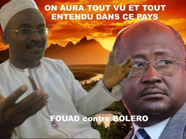 Fouad Mohadji est convaincu que Hamada Madi Bolero tente de d�stabiliser le pr�sident de la R�publique.