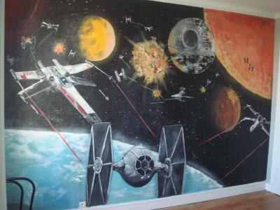 Chambre d 39 enfant star wars caen deco 39 real for Chambre star wars