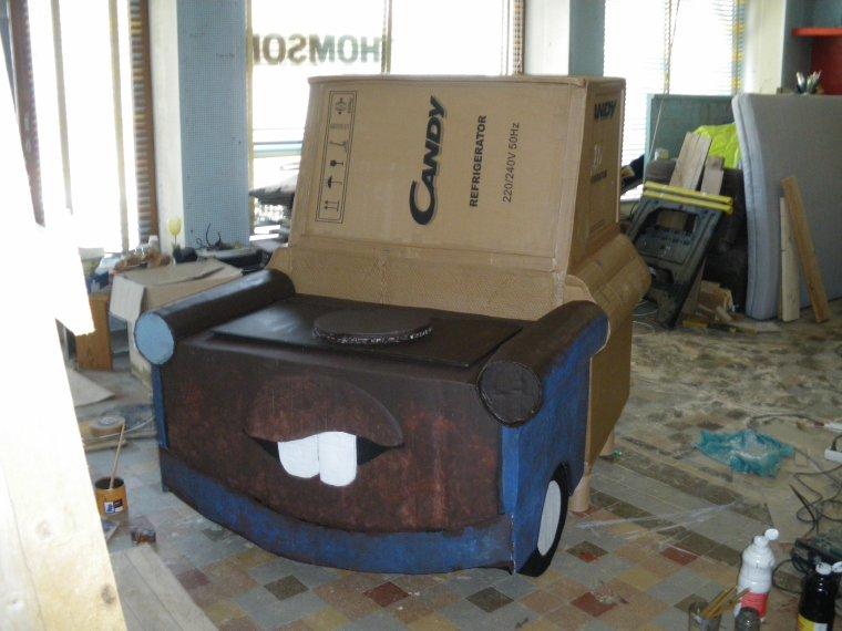 mon premier meuble en carton bienvenue