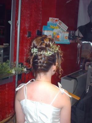 Pour une petite communion dynami tif coiffure - Coiffure pour communion ...